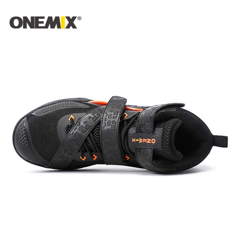 ONEMIX yeni basketbol ayakkabıları varış erkek en kaliteli spor ayakkabılar su geçirmez erkekler spor ayakkabı toptan US7-12