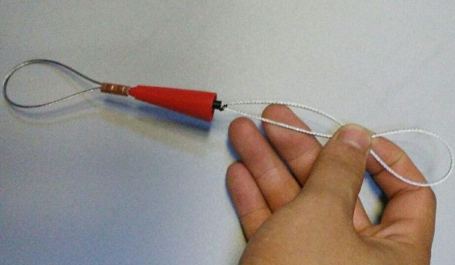 Cinta de pescado de nylon de 3 mm, extractor de cable, varilla de - Juegos de herramientas - foto 3