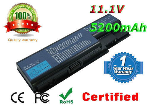AS07B61 Battery Packard Bell EasyNote LJ65 LJ67 LJ71 LJ73 Series AS07B31 AS07B51