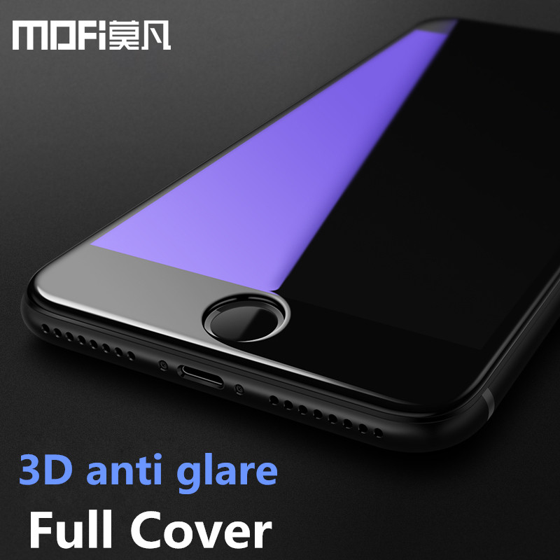 For iPhone 7 glass 3D full cover tempered screen protector for iPhone 7 plus protective film MOFi for iphone7 iphone 7 glass