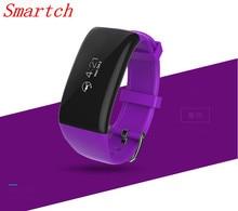 Smartch X16 Смарт-часы Водонепроницаемый сердечного ритма Мониторы шагомер деятельность Фитнес трекер Браслет для iOS и Android