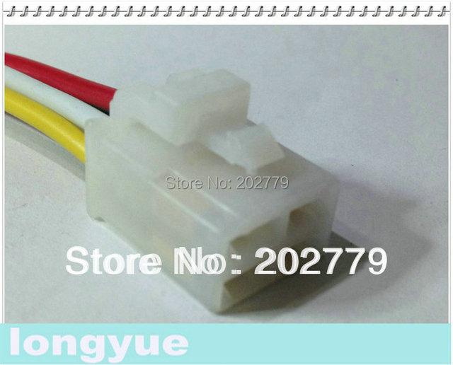 longyue 50pcs 4 Pin / way Relay Connector Plug Socket Pigtail 15cm ...