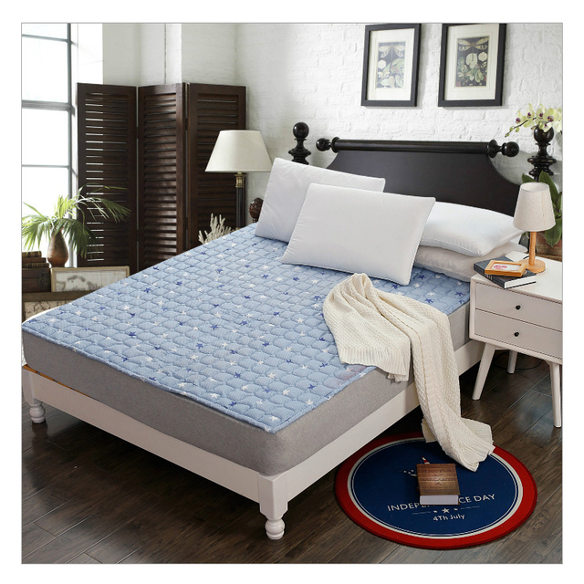 New Thick Mattress Covers Double Tatami Anti Dust Mite Bed Protection Pad Student Dormitory Housse