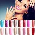 Best Seller 3  Polish Varnish UV LED Nude Color Series UV Gel Base Top Coat UV Lamp Nail Art Design Hot Sale Nail Gel Lacquer