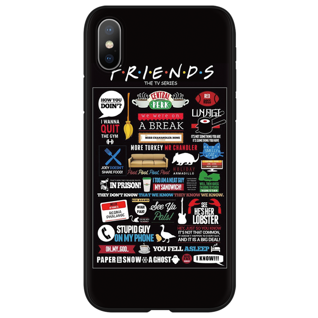 Central Perk Coffee friend tv show how you doin Case for iphone 6 6s 7 8 Plus Cover FOR iphone 11 Pro XR XS Max X 5 5S SE Case