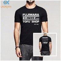 Summer Takumi Fujiwara Tofu Shop Delivery AE86 Initial D Manga HachiRoku Shift Drift Men T Shirt