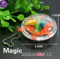 30 Steps 955A Mini Puzzle ball Educational super power  Magic Intellect Ball Marble Puzzle Game perplexus magnetic balls