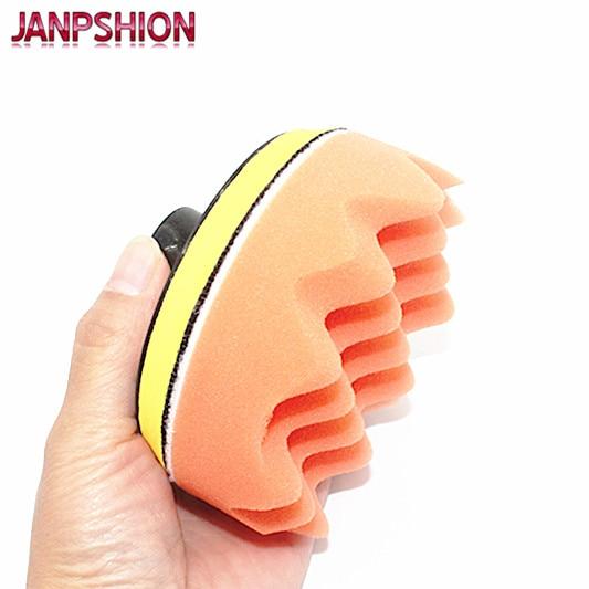 JANPSHION 20PC 80mm automobilių poliravimo buferio pagalvėlės, - Elektriniai įrankiai - Nuotrauka 4
