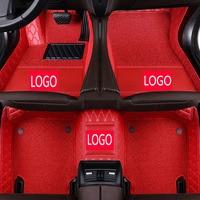 CARFUNNY Custom car logo car floor mats for toyota corolla e150 тойота королла е150  car styling carpet|Floor Mats|Automobiles & Motorcycles -