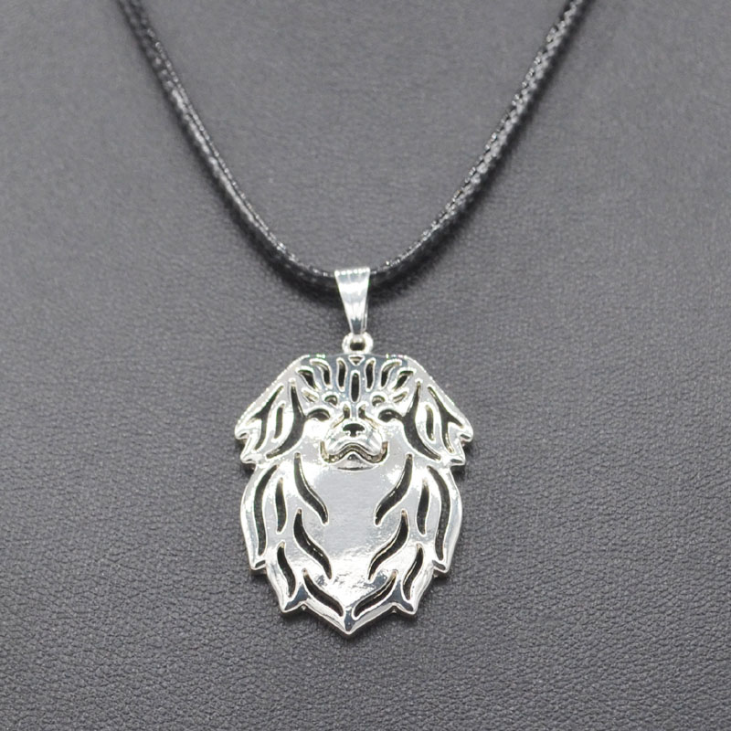 Hot Selling New Rope Chain 2018 Fashion Special Dog Pendant Necklaces Womens Tibetan Spaniel Jewelry Necklaces