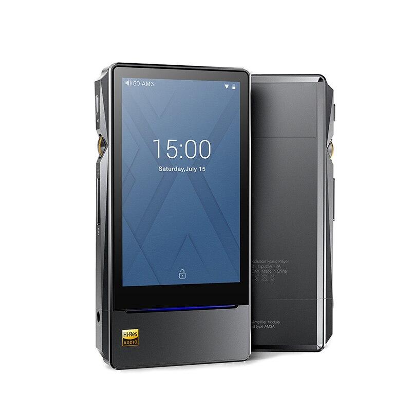 FiiO X7II X7 MarKII basado en Android de alta resolución Audio sin pérdidas de reproducción reproductor de música portátil equilibrado para AM3A ES9028PRO