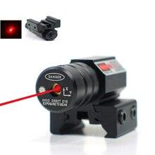 Детали для охотничьей тактической винтовки, компактный лазерный прицел с красной точкой, длина волны лазера 835-655 мм, Лазерный диапазон 50-100 метров, 11 мм, 20 мм