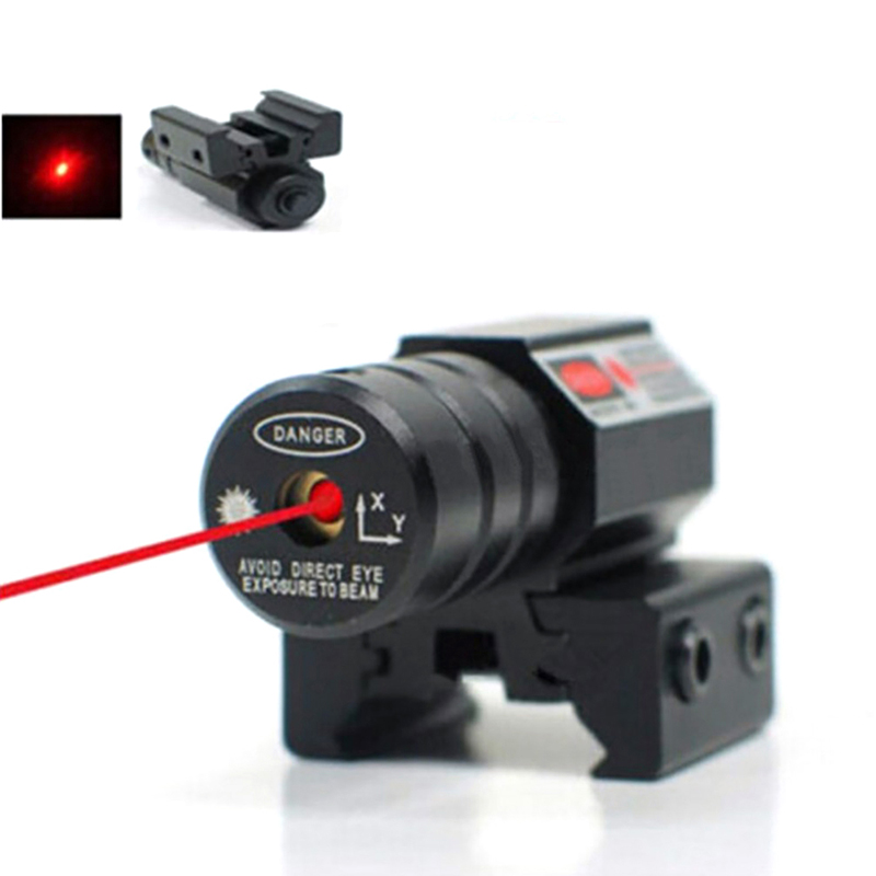 Hunting Tactical Rifle Parts Compact Shooting Red Dot Laser Sight Laser Wavelength 835-655mm Laser Range 50-100 Meters 11mm 20mm