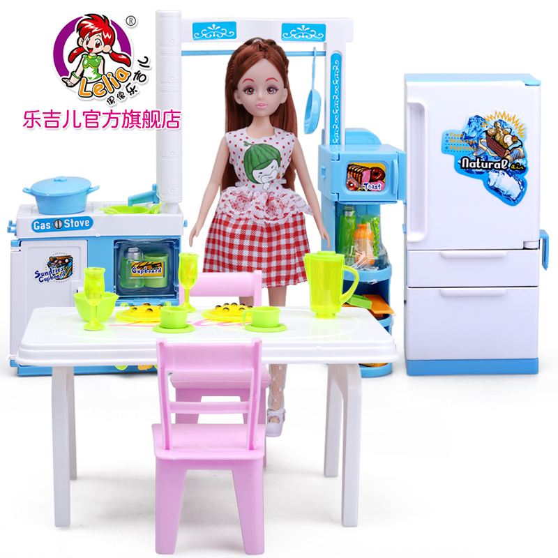 US $46.6 |Artificial Mini children kitchen set baby kitchen toys male girl  Child Multifunction Educational Toys Birthday Gif-in Kitchen Toys from Toys  ...