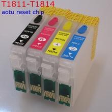 T1811 многоразового картридж автосброс для EPSON XP30 XP102 XP202 XP205 XP302 XP305 XP402 XP405 XP215 XP312 XP415