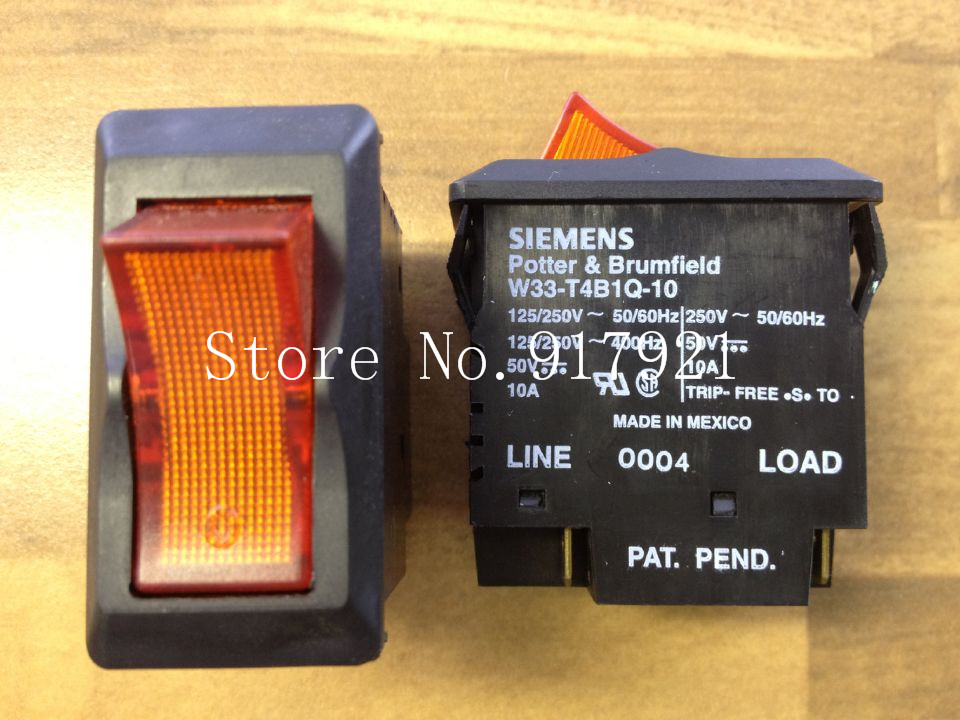 [ZOB] original original W33-T4B1Q-10 circuit breaker 2P10A 250V GENUINE NEW --5pcs/lot dhl eub 5pcs new original for schneider c65n dc 1p c40a breaker 15 18