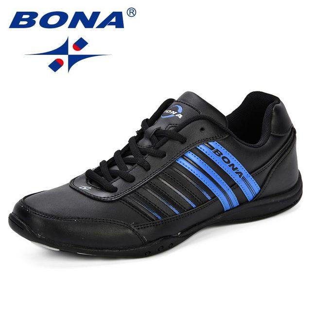 BONA Fashion Male Casual Shoes Leather