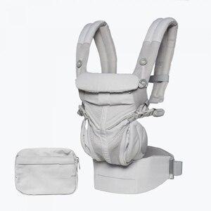 OMNI 360 Ergonomic Baby Carrier Multifunction Breathable Newborn Baby Sling Wrap Infant Portable Travel Back Waist