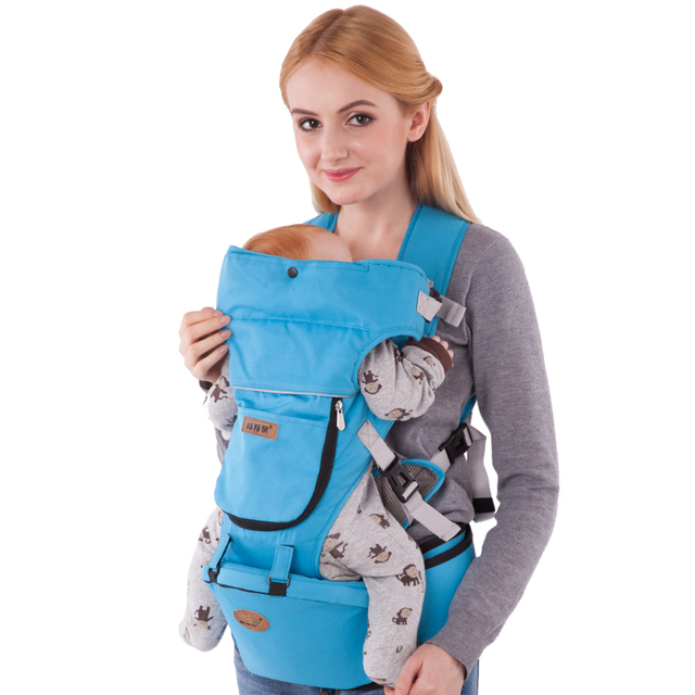 0-36 Months Breathable Multifunctional Baby Carriers Infant Comfortable Sling Backpack Infant Wrap Baby Kangaroo Free Shipping