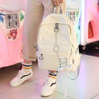 Fashion big capacity shopping bag laptop backpack rucksack canvas bags student mochila womens school Bags Fashion Backpacks