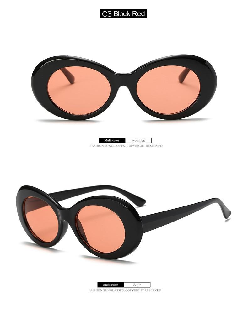 0a65288247 Clout, gafas de ojo de gato gafas de sol NIRVANA, Kurt Cobain, gafas mujer  mariposa diseño de marco de gafas UV400 gafas de sol