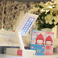 3 Colors Cute Foldable LED Lamp Eye Protection Reading Light LED Desk Table Lamp For Baby Children Bedroom Living Room