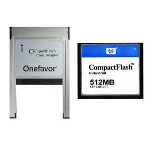 Image 3 - 10 יח\חבילה 128 mb 256 mb 512 mb 1 gb 2 gb 4 gb Compact Flash כרטיס CF התעשייתי זיכרון כרטיס עם PCMCIA מתאם סוג II & סוג אני