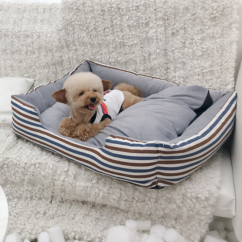 Comfortable Pet Cat Bed Detachable Dog Basket Kennel Nest Big Size Dog Puppy Sleep Cushion Mat Sofa For Small Medium Large Dogs #2