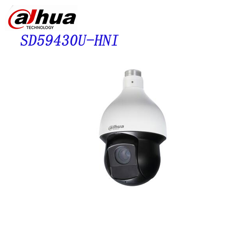Original Dahua 4Mp PTZ Full HD 30x Network IR PTZ Dome Camera SD59430U-HNI replace for SD59430U-HN dahua 4mp ptz full hd 30x network ir ptz