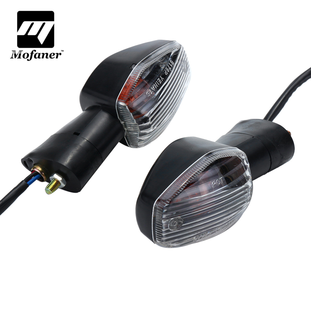 Mofaner One Pair Motorcycle Turn Signal Light Indicator For Honda CB400 CB1300 CBR 600 1000 RR F4Mofaner One Pair Motorcycle Turn Signal Light Indicator For Honda CB400 CB1300 CBR 600 1000 RR F4