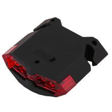 LEADBIKE 4 LED Mountain Bike Rear Tail Light Waterproof USB Rechargeable Lamp