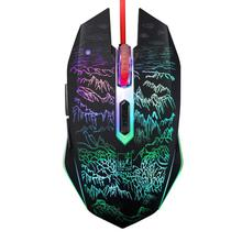 Goos Sale New Professional 2400DPI 6 Buttons Optical Usb Ergonomic Wired Gaming Mouse May 4