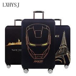 Capa de bagagem de viagem elástica capa protetora de bagagem Suitable18-32 Polegada mala caso poeira acessórios de viagem