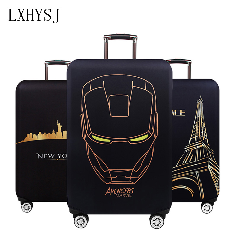 Hot sale Travel Elastic Fabric Luggage Protective Cover Suitable18-32 Inch Trolley Case Suitcase Dust Cover Travel AccessoriesHot sale Travel Elastic Fabric Luggage Protective Cover Suitable18-32 Inch Trolley Case Suitcase Dust Cover Travel Accessories