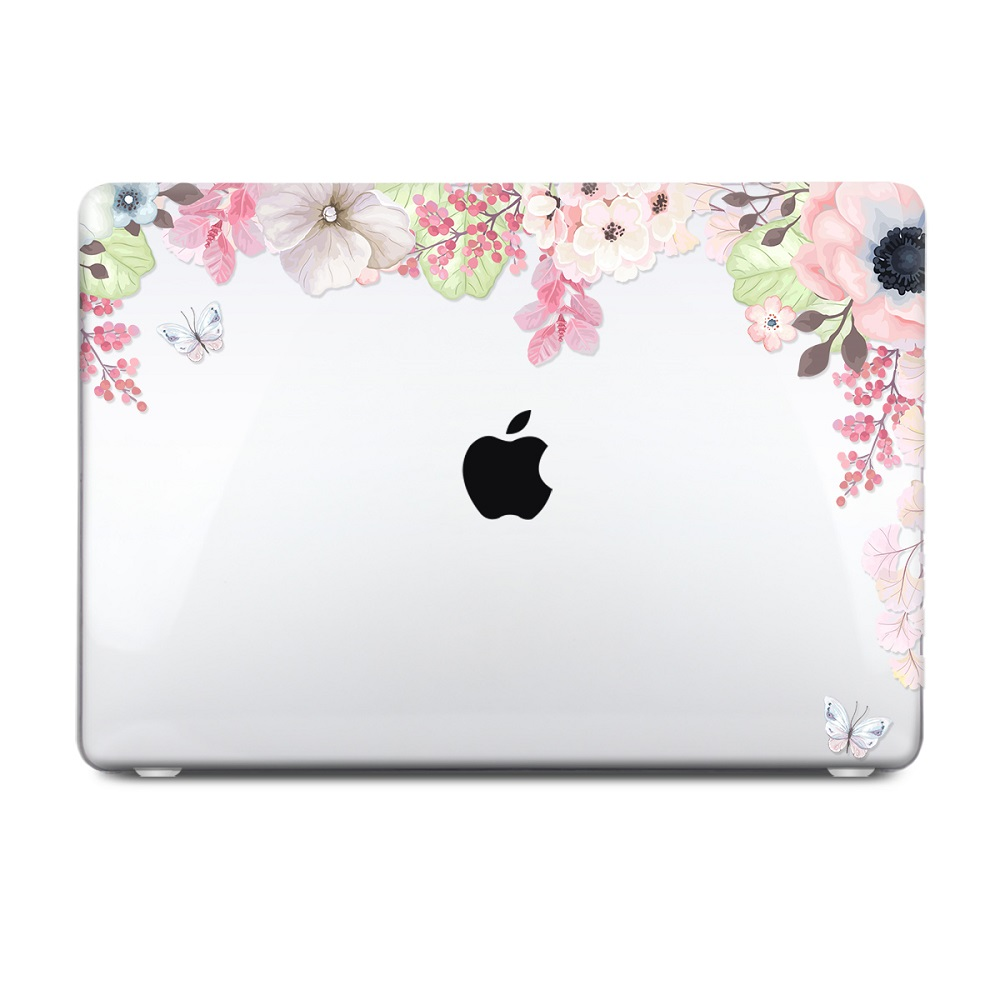 Floral Printing Hard Case for MacBook 115
