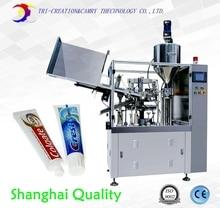 Penyegelan mesin tabung, gigi pasta mengisi dan penyegelan mesin, mesin mengisi tabung lembut, 2 in 1 CE
