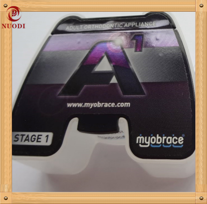 Myobrace A1 Appliance for tooth crowding/ MRC Orthodontic Teeth Trainer Appliance A1/tooth trainer A1 orthodontic