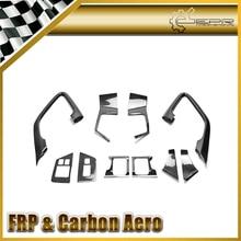 Авто-Стайлинг для Nissan R35 GTR углеродного волокна внутренняя отделка двери комплект 2009-(LHD) на