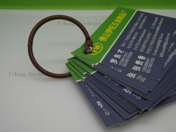 50 pcs/lot 50mm metal color brown book binder ring-in Clips from ...