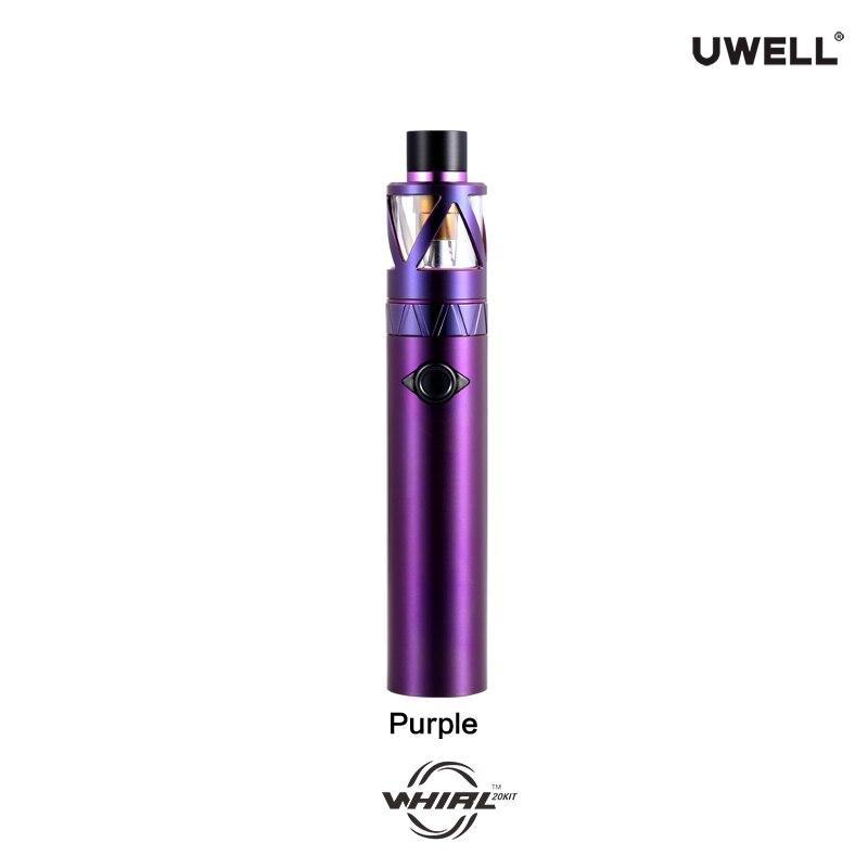 UWELL Whirl 20 Kit All-in-One Starter Kit 25W 2ml Tank Atomizer 700mah Battery Electronic Cigarette Vape Kit