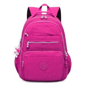 Image 3 - TEGAOTE Rucksäcke für Frauen Teenager Mädchen Schule Rucksack Weibliche Mochila Feminina Laptop Rucksack Reisetaschen Casual Sac A Dos