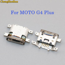 ChengHaoRan 5pcs For MOTO G4 Plus XT1641 XT1644 Brand new Micro mini USB jack socket Connector Charging Port dock plug 5 pin chenghaoran 1pcs for zte blade l2 s6 5 0 u807 n983 n807 u956 n5 n909 n798 n980 micro mini usb connector socket charging port