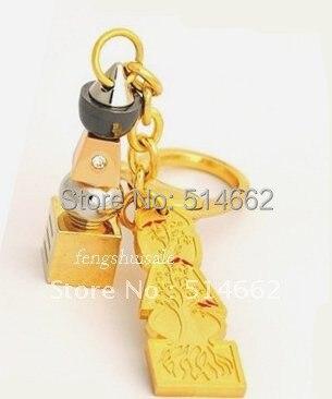 Feng shui 5 Élément Avec Arbre De Vie Pagode Porte-clés