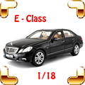 Christmas Gift E-CLASS 1/18 Model Metal Car Sedan Luxury Vehicle Alloy Diecast Decoration Toys Steel Collection Present For Fans
