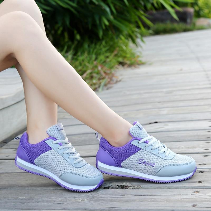 New Fashion New Women Fashion Outdoor Walking keeping balance Casual Shoe women s Classic Breathable Mesh
