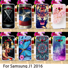 Phone Cases For Samsung Galaxy J1 2016 J120 J120F J120H Duos SM-J120 SM-J120F/DS Case Hard Back Cover Skin Housing Sheath Bag цена и фото