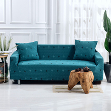 Geometric Cross Sofa Cover Modern All-inclusive Slip-resistant Towel Couch Covers for Living Room copridivano