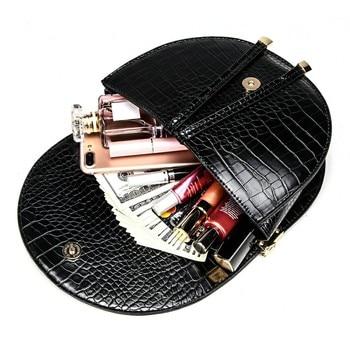 Crocodile Pattern Crossbody Bags  4