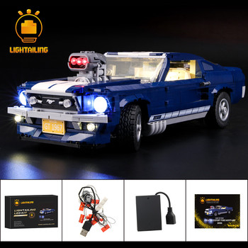 LIGHTAILING Led Light Kit For 10265 Creator Series Ford Mustang Building Block (NOT Include The Model) image