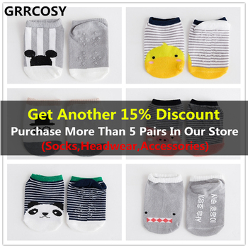 GRRCOSY Baby Toddler Socks  Infant Anti-slip novelty socks Cartoon animal Newborn Cotton Baby socks floor socks Boy Girls Cute 1